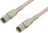 10-32 Male to 10-32 Male Cable 72 Inch Length Using RG316 Coax -- PE36524-72 -- View Larger Image