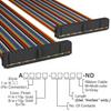 Rectangular Cable Assemblies -- A3CCB-4418M-ND -Image