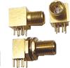 Micro Quadrax Straight PCB Jack -- 012817-2000 - Image