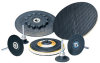 Standard Abrasives 546357 Medium Black TR Quick Change Disc Pad - 2 in DIA -- 051128-90607