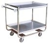 Tubular Frame Stainless Service Cart -- Model XM