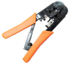 RJ11 - RJ12 - RJ45 Crimp Tool with Ratchet -- 68TL-D1