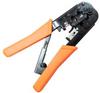 RJ11 - RJ12 - RJ45 Crimp Tool with Ratchet -- 68TL-D1