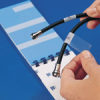 Write-On Self-Laminating Wire and Cable Markers (B-292; (BLANK); Self-Laminating Vinyl; 120/Package) -- 662820-35400