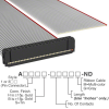 Rectangular Cable Assemblies -- A1AXG-4036G-ND -Image