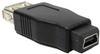 USB A Female to Mini 5 pin (B5) Female Adapter -- UB11-02