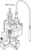 Pilot Operated Pressure / Temperature Control Valve with SG Iron Bodies -- DP27TE - Image