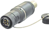Circular Fiber Optic Hybrid Connectors -- Optron