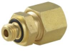 Compression Fitting, 10-32 Thread to 1/4