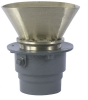 Floor Drain with Oval Funnel -- FD-200-EG -- View Larger Image