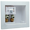 IntelliFlow Automatic Washing Machine Water Shutoff Valve with Leak Sensor - Wall Box -- A2C-WB