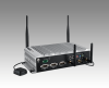 In-Vehicle NVR w/4 PoE Ports Intel® Atom E3825 / Atom E3845 SoC Fanless Box PC -- ARK-2121V