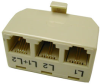 RJ11/12 Two Line Phone Tap -- 83-530 - Image
