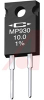 Resistor;Thick Film;Res 10 Ohms;Pwr-Rtg30 W;Tol 1%;Radial;TO-220;Heat Sink -- 70089576