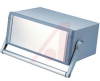 ENCLOSURE, DESK TOP CASE WITH HANDLE, ALUMINUM, 5.9 X 13.78 X 10.25 -- 70016744 - Image