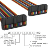 Rectangular Cable Assemblies -- A3DDB-2436M-ND -Image