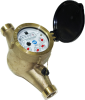 "Multi-Jet Totalizing Water Meter -- MJ-SDC 5/8"" x 3/4"""
