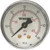 Lead Free* Center Back-Entry Pressure Gauge -- LFDPG-3 - Image