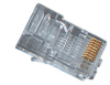 RJ-45 Modular Connector, Solid, Single-Pack -- FM110