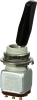 MICRO SWITCH TW Series Toggle Switch, 2 pole, 3 position, Solder terminal, Tab Lever -- 12TW19-1-A002 -Image