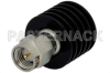 5 Watt RF Load Up to 18 GHz With SMA Male Input Black Anodized Aluminum Heatsink -- PE6095 -Image