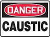 Safety Sign, Danger - Caustic, 7