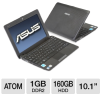 ASUS Eee PC 1001PX-EU17-BK Netbook - Intel Atom N450 1.66GHz -- A50-10170 ON