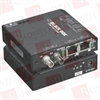 BLACK BOX CORP LBH100A-SSC ( 3-PORT INDUSTRIAL 10/100 ETHERNET SWITCH STANDARD TEMPERATURE ) -- View Larger Image