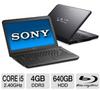Sony VAIO VPCEG26FX/B Laptop Computer - Intel Core i5-2430M -- VPCEG26FX/B