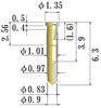 Small Size Socket Pin -- N5430060-GG -Image