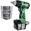 HITACHI 14.4 V Lithium Ion Cordless Impact Wrench -- Model# WR14DL