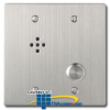 Aiphone Flush Mount Outdoor Vandal-Resistant Door.. -- AI-RS170
