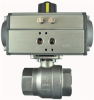 """STAINLESS STEEL-2WAY NC-DOUBLE ACTING 3"""" NPTF BALL VALVE -- S2CD14-0-0"""