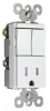 Combination Switch/Receptacle -- TM8118-TRWCC -- View Larger Image