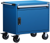 Heavy-Duty Mobile Cabinet, with Partitions -- R5BEE-2801 -Image