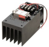 27 dBm P1dB, 6 GHz to 18 GHz, Medium Power Amplifier with Heatsink, SMA, 30 dB Gain, 7 dB NF -- PE15A4061F -Image