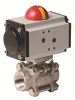 Pneumatically Actuated 3 PC Stainless Steel Ball Valve -- PVS Series