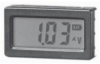 "Digital Voltmeter 3 1/2 digit, 10.2 mm 0.4"" LCD, Red Backlit -- 78073610303-1"