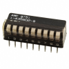 DIP Switches -- 1-5435802-9-ND - Image