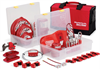 Group Lockout Kit Lockout Kit, 53 Pieces, 7