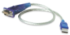 Cables To Go 1-Foot USB To Serial Db-9 Male RS-232 Cable -- 26886