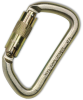 Carabiner Connector - Steel 25 mm (1 in) opening -- NORTHS-FP88