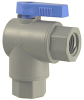 Plastic Two Way Right Angle Ball Valve -- 657 Series -- View Larger Image