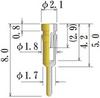Medium Size Socket Pin -- PDK1580-GG -Image