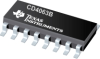 CD4063B 4-Bit Magnitude Comparators -- CD4063BE