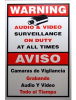Video Surveillance Warning Sign LTSIGNA