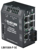 Extreme Heavy-Duty Edge Switch, (5) 10/100 Copper + (1) Fiber Ports, Multimode, 24-VDC, ST, DIN Rail Mountable -- LBH150A-PD-ST-24