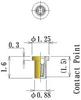 Thru Hole Short type, Round Socket Pin -- NV7P-F125L16-GG -Image