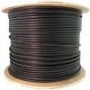 Wire CAT5e Data 24G Black 1000 Reel -- 1075554