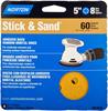 Norton Stick & Sand AO Coarse Grit Paper PSA Vacuum Disc